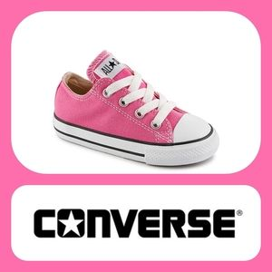 CONVERSE Chuck Taylor Low Top Baby Pink 5